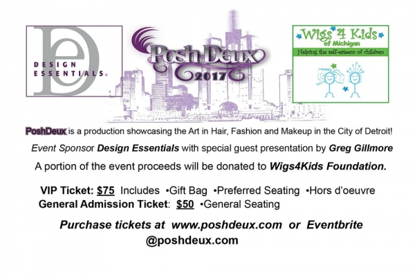 PoshDeux: Hair, Fashion and Makeup Show - Wigs4Kids of