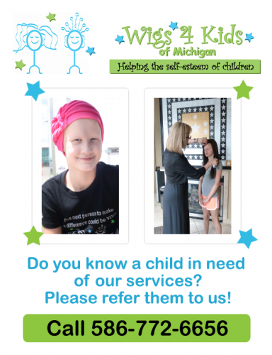 Do You Know of a Child in Need? - Wigs4Kids of Michigan - Blog and News