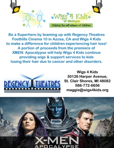 Regency Theatres Hosting XMEN Premiere Fundraiser for W4K