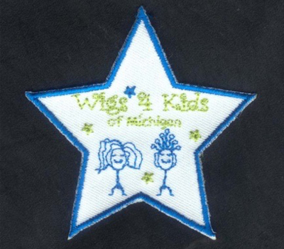 Merchandise - Wigs4Kids of Michigan   - badge