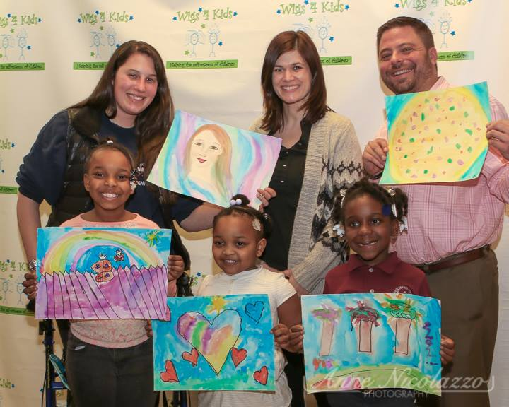 Support services for Children and Families in Michigan  - courtney_gray_with_finished_paintings