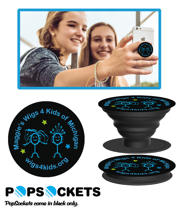 Merchandise - Wigs4Kids of Michigan   - popsockets2