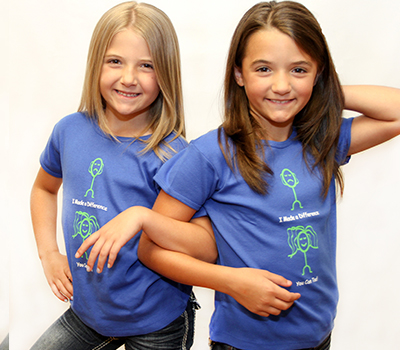 Merchandise - Wigs4Kids of Michigan   - shirtblue1