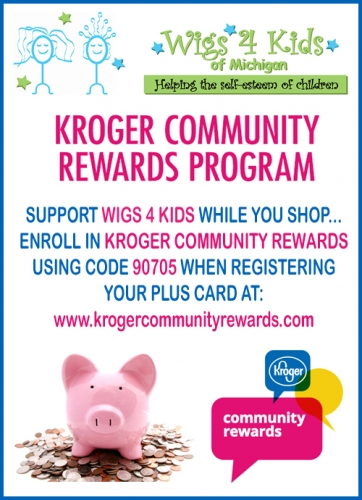 Sign Up for the Kroger Community Rewards for Wigs 4 Kids - Wigs4Kids