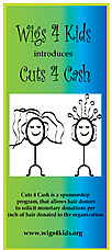 Wigs4Kids of Michigan - Donate Hair - Cuts-4-Cash-brochure-cover