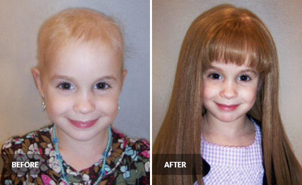 Wigs4Kids of Michigan - Child Ambassadors - Ella