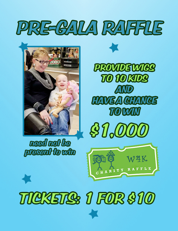 """Sweet Sixteen"" Annual Gala - Wigs 4 Kids of Michigan Charity Events and Gala - Pre-Gala-Raffle-Drop-Box-Sign-8"