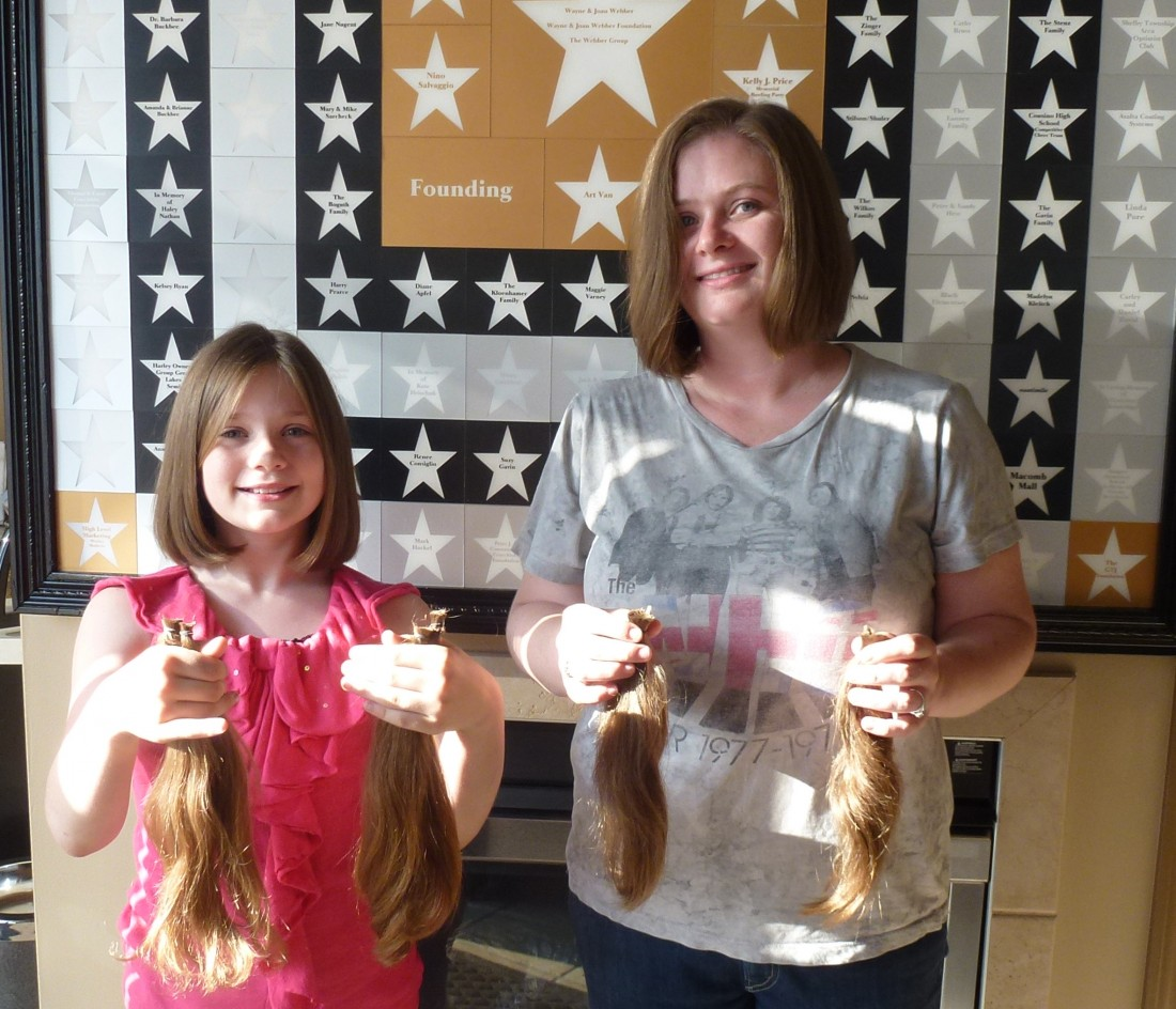 Wigs4Kids of Michigan - How You Can Help - Rachel_and_Alley_Donating_Hair(1)