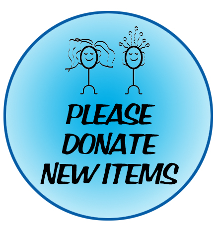 18th Annual Gala - Wigs 4 Kids of Michigan Charity Events and Gala - please-donate-new-items