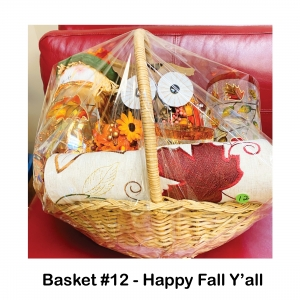 "Owl Potpourri Decor,                      Scarecrow Decor,                                   2 Fall Glass Cylinders,                            ""Happy Fall Y'all"" Towel,                                  Fall Leaf Table Runner,                      4 Fall Leaf Napkin Holders"