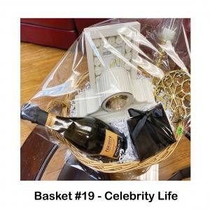 $75 Fish Bones Gift Card,                      Baldwin Gold Tea Pot Trivet,                                   Baldwin Thin Candle Holder W/Globe,                            Lenox Mantle Clock,                                Prosecco Sparkling Wine