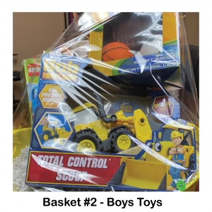 Bob the Builder Control Scoop, 3 Pack Sports Balls, Lego Duplo Trucks