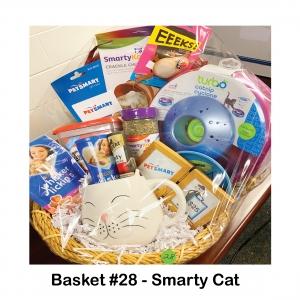 $25 Pet Smart Gift Card, Cat Coffee Mug, Crackle Chute & Mouse Toy, Organic KatNip, Purina Treats, Sheba Treats, Temptations Treats, Treat Bowl & Holder