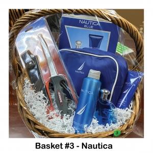 Fillet Knife, Nautica Cologne & Body Wash, Nautica Travel Bag & Items