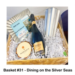 $50 Mac & Ray Gift Card, Marigold Candle Holder, Marigold Silver Frame, Marigold Silver Vase, Prosecco Champagne