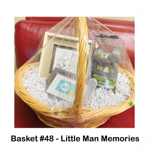 """$25 Buy Buy Baby Gift Card, Baby Camo Hat & Booties, """"Something We Hold Onto"""" Wall Décor"""