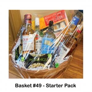 2 Bags of Pistachios, 5pk Mexico Premium Tequila, Bacardi Rum, Captain Morgan, Dewar's White Label Scotch, Mama Walker's  Blueberry Pancake, Pinnacle Vodka, Smirnoff Grape