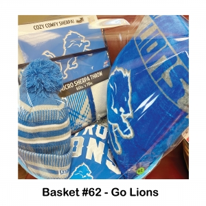 Detroit Lions 3/4 Sleeve