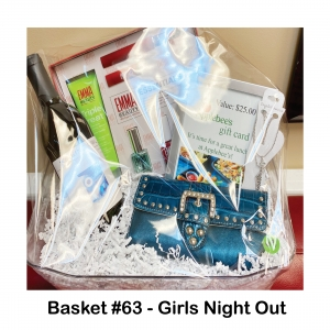 $25 Applebee's Gift Card, Blue Country Wallet, Crystal Avenue Anklet, EMMA Beauty Essentials Kit, Winking Owl Merlot