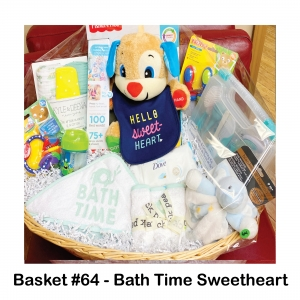 2 Muslin Blankets, 4 Piece Towel Set, Bibs and Sippy Cup, Dove Baby Wipes, Elephant Blankie, Fisher Price Smart Puppy, Health & Grooming Kit, Nibbler Feeder, Teething Toy