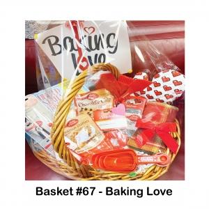 About Bread Cookbook, Baking Love Sign, Betty Crocker Cookie Mixes, Measuring Cups & Spoons, Cheese Grater, Peeler, Scissors, Heart Oven Mitt, Red Cooking Utensils, Towel, Cupcake Stencils