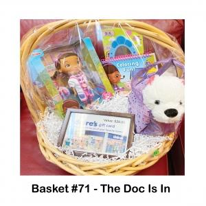 $20 Claire's Gift Card, Disney Jr. Doc McStuffins, Doc McStuffins Coloring Book, Doc McStuffins Mirror, Doc McStuffins Storybook, Plush Dog and Purse