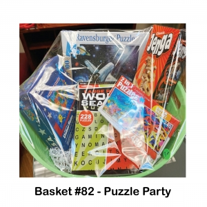 2-in-1 Puzzles 480 Pieces, Classic Jenga, Large Print Word Puzzle, Ravensburger Puzzle, State  Shaped Puzzle Pieces
