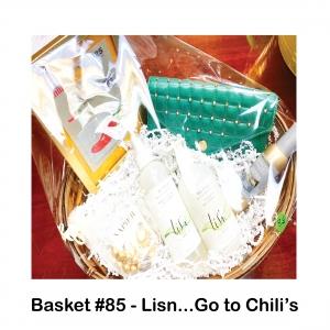 $25 Chili's Gift Card, Earring/Bracelet Set, Lis'n Flexible Styling Mist, Lis'n Styling Elixir, Rebecca Minkoff Purse, Yankee Candle Water Garden, Room Spray