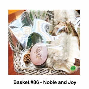 $25 Barnes & Noble Gift Card, Joy to the World Plaque, Keychain Ornament, Lenox Alpine Candle, UGG Cable Knit Table Runner