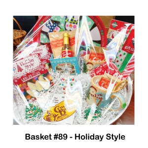 $25 Cracker Barrel Gift Card, 2 Candy Canes, 2 Christmas Light LED Boxes, 2 Hot Cocoa Mugs, 4 Pack of Hot Cocoa, Holiday Gift Tissue & Tags, Penguin Baker Box, Penguin Serving Tray, Torani Vanilla Syrup, Tree Salt & Pepper Shakers, White Ceramic Xmas Tree