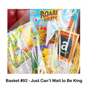 $25 Amazon Gift Card, Lion Guard Wooden Puzzle, Lion King Book, Roaring Rescue Game