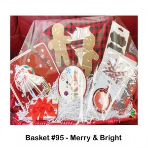 Chalkboard Stickers, Christmas Tree Bulb, Gift Card Holder, Gingerbread Pillow, Medium Serving Plate in Red, Ornament Frame, Red Peppermint Knife, Santa Trivet Hanger, Snowflake Napkins