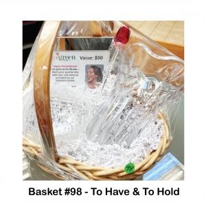$50 Go Green Salon Gift Card, Crystal Bowl, Crystal Vase, Glass Rose, Olivia & Oliver Frame