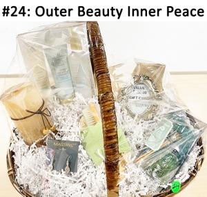 Go Green Salon Gift Card, Massini Earrings Rhinestone Drop, Tricolor Candle, Makeup Bag, Bath Set Bag Bundle, Sea Grass Diffuser, Mary Kay Satin Hands Trio  Total Basket Value: $188.00