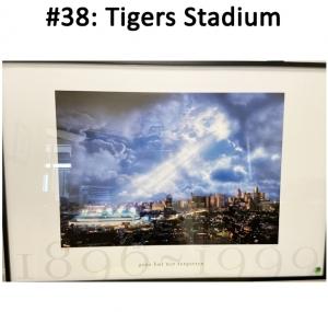 Tigers Stadium Large Print Framed  Total Basket Value: $200.00