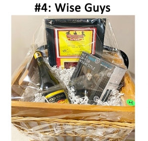 Wise Guys Gift Card,  Ace Hardware Gift Card,  Grooming Set, Toasted Head Chardonnay  Total Basket Value: $70.00
