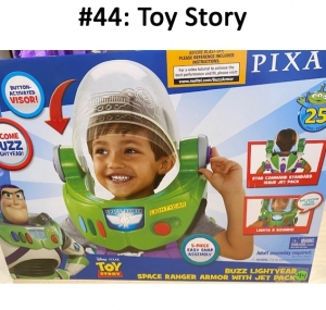 Disney Pixar Toy Story Buzz Lightyear Space Ranger Armor with Jet Pack  Total Basket Value:$73.00