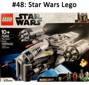 An amazing Star Wars Lego set to build a spaceship - hours of fun!  Total basket Value: $130.00