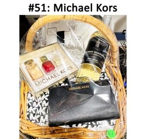 Robert Mondavi Pinot Grigio Wine, Michael Kors Coffret Mini Perfume Set Ruby, Michael Kors Travel Jet Set Black Wallet, Michael Kors Black & White Scarf, White Throw Blanket, Wine Glass  Total Basket Value: $234.00