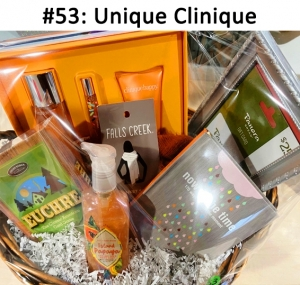 Front Porch Classics Euchre Game, Now is the time Book, Falls Creek Blanket Scarf, Clinique Happy perfume & lotion Set, Panera Gift Card, Island Papaya Hand Soap  Total Basket Value: $172.00