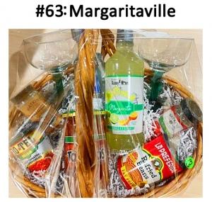 2 Margarita glasses,  Refried Beans, Ro-Tel Salsa, 1800 Silver Tequila, 1 Watkins Salsa & Sour Cream, Seasoning Mix, 1 Salsa Seasoning Mix, Skinny Margarita Mix, Crazy Gringo's Gift Card  Total Basket Value: $106.00