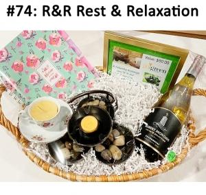 Journal, Go Green Massage Gift Card, Friendship Candle, Zen Fountain, Chardonnay Wine Robert Mondavi  Total Basket Value: $130.00