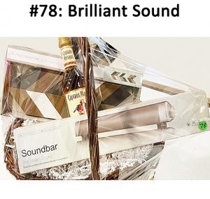 Swisstek Bluetooth Sound bar, Captain Morgan Rum, 3 Piece Arrow Wall Art Set  Total Basket Value: $97.00