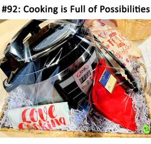 Power Pressure Cooker, Love Cooking Towel, Hand Mitt, 2 Pot Holders, Tongs  Total Basket Value: $106.00