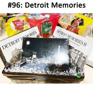 Detroit Memories Book Series 1-3, Better Made Chips Better Made Pretzels, 1 Bottle of Vernors  Total Basket Value: $177.00
